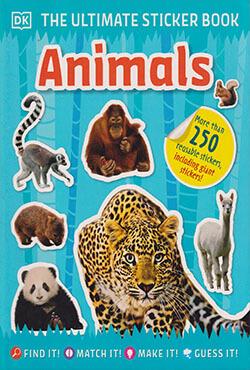 The Ultimate Sticker Book: Animals